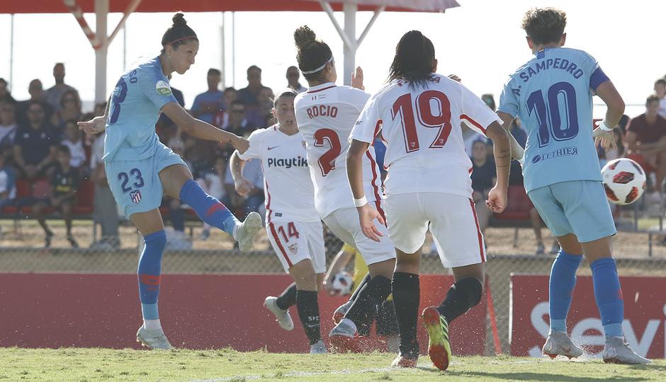 Temporada 18/19 | Liga Iberdrola | Sevilla - Atlético de Madrid | Jenni Hermoso