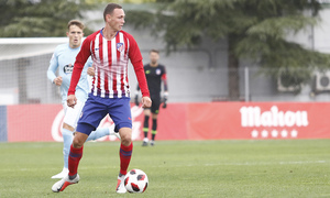 Temporada 18/19 | Atlético de Madrid B - Celta B | Mikel Carro
