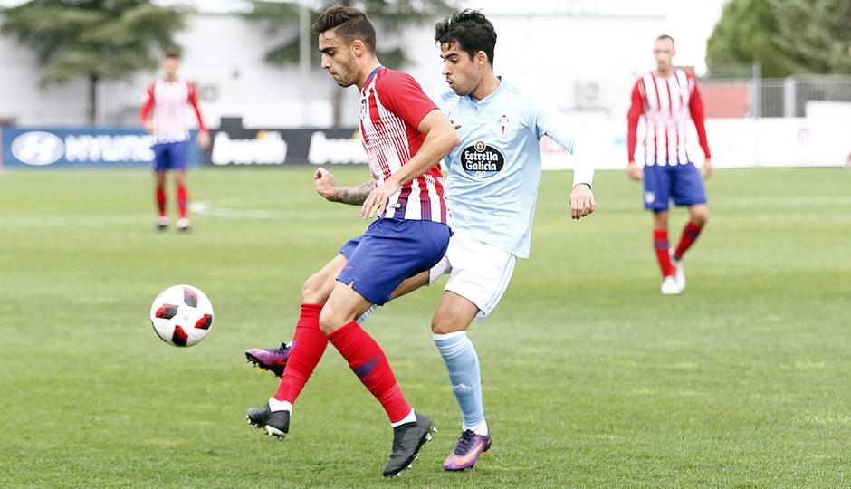 Temporada 18/19 | Atlético de Madrid B - Celta B | Carlos Isaac