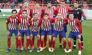Temporada 18/19 | Atlético de Madrid B - Celta B | Once inicial