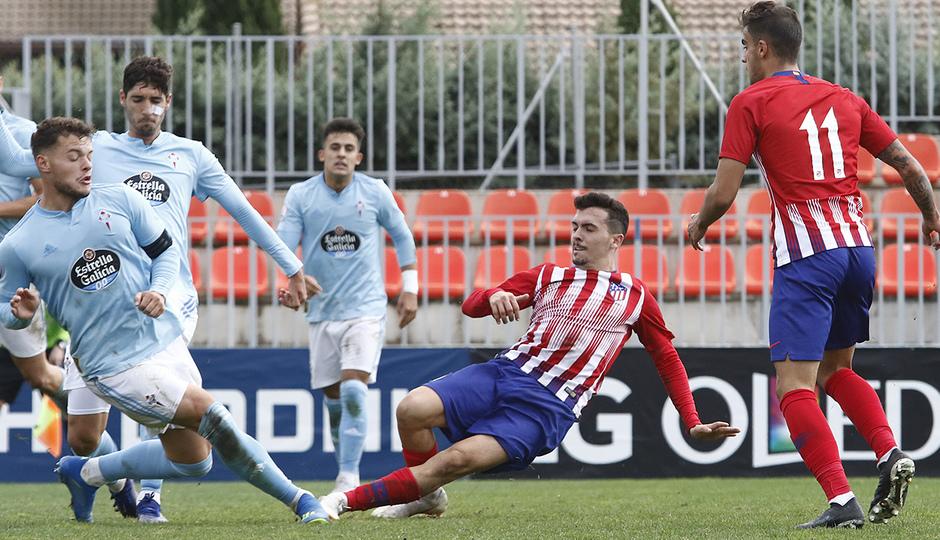 Temporada 18/19 | Atlético de Madrid B - Celta B | Joaquín Muñoz