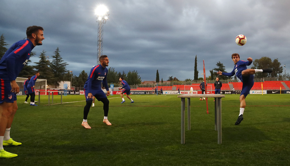 Temporada 2018-2019 | Entrenamiento Ciudad Deportiva Wanda | Saúl, Koke y Griezmann