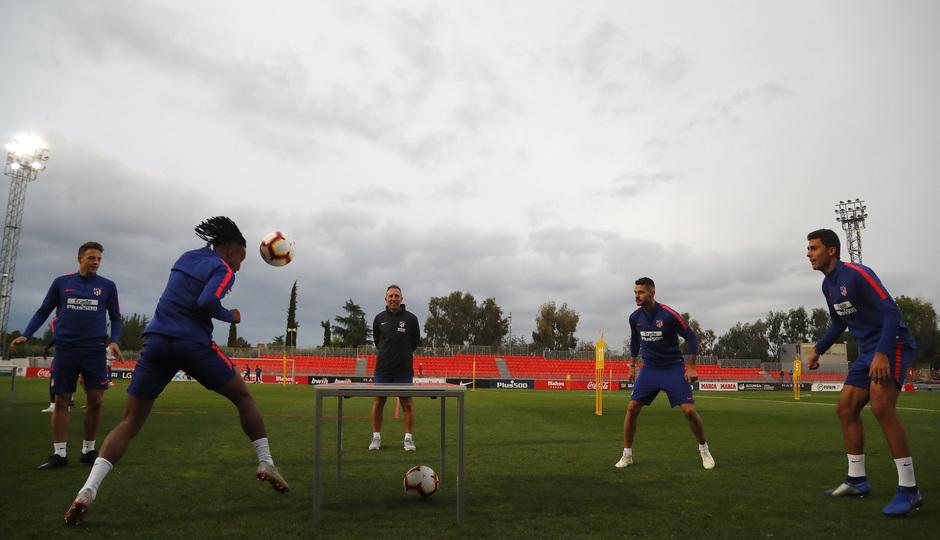 Temporada 2018-2019 | Entrenamiento Ciudad Deportiva Wanda | Gelson, Arias, VItolo y Rodrigo