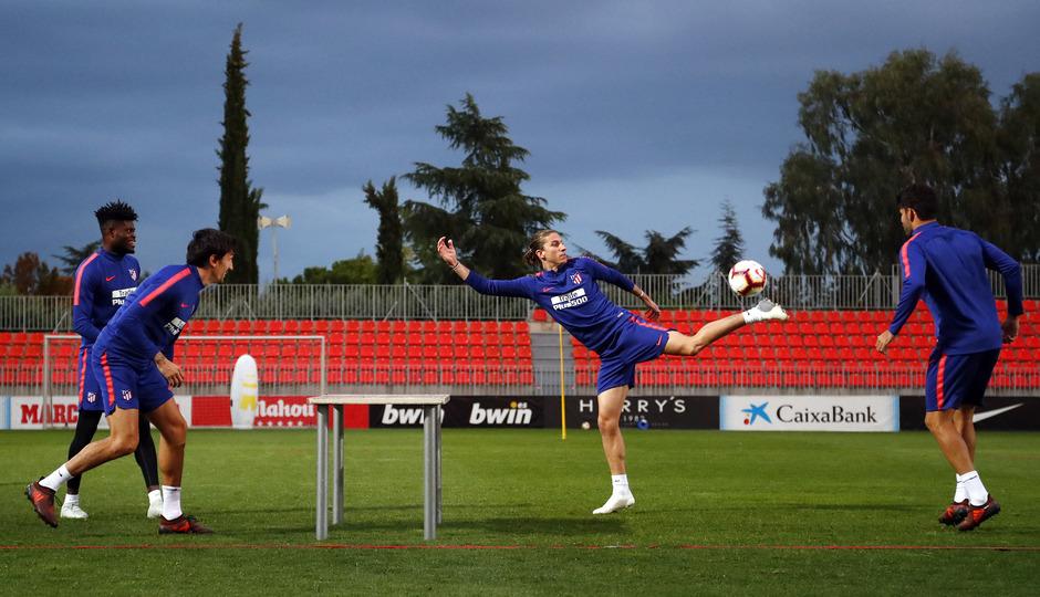 Temporada 2018-2019 | Entrenamiento Ciudad Deportiva Wanda | Thomas, Savic, Filipe y Diego Costa