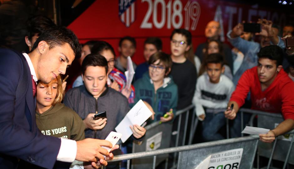 Temporada 18/19 | Villarreal - Atleti | Llegada | Rodrigo