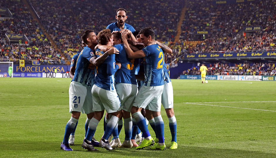 Temporada 18/19 | Villarreal - Atleti | Celebración