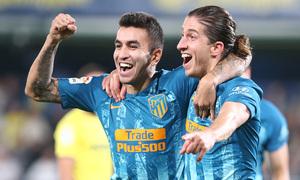 Temporada 18/19 | Villarreal - Atleti | Gol | Filipe Luis y Correa