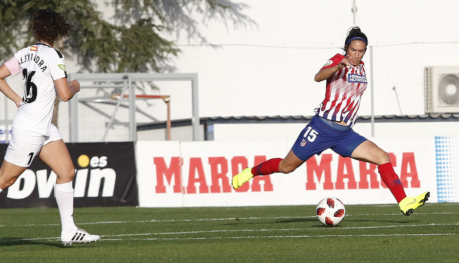 Temporada 18/19 | Atlético de Madrid Femenino - Madrid CFF | Meseguer