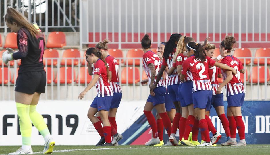 Temporada 18/19 | Atlético de Madrid Femenino - Madrid CFF | Celebración