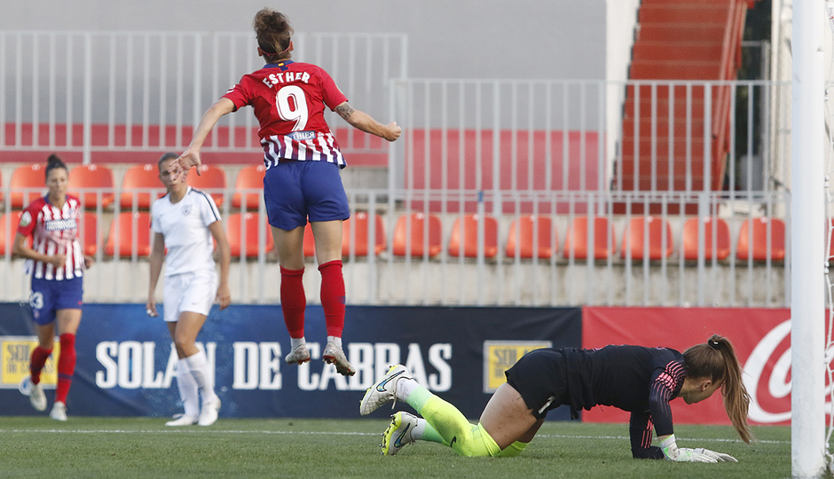 Temporada 18/19 | Atlético de Madrid Femenino - Madrid CFF | Gol Esther
