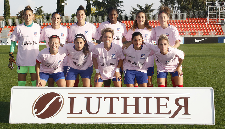 Temporada 18/19 | Atlético de Madrid Femenino - Madrid CFF | Once inicial