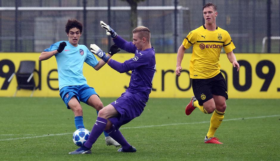 Temp. 18-19 | Youth League. Dortmund-Atlético de Madrid. Camello