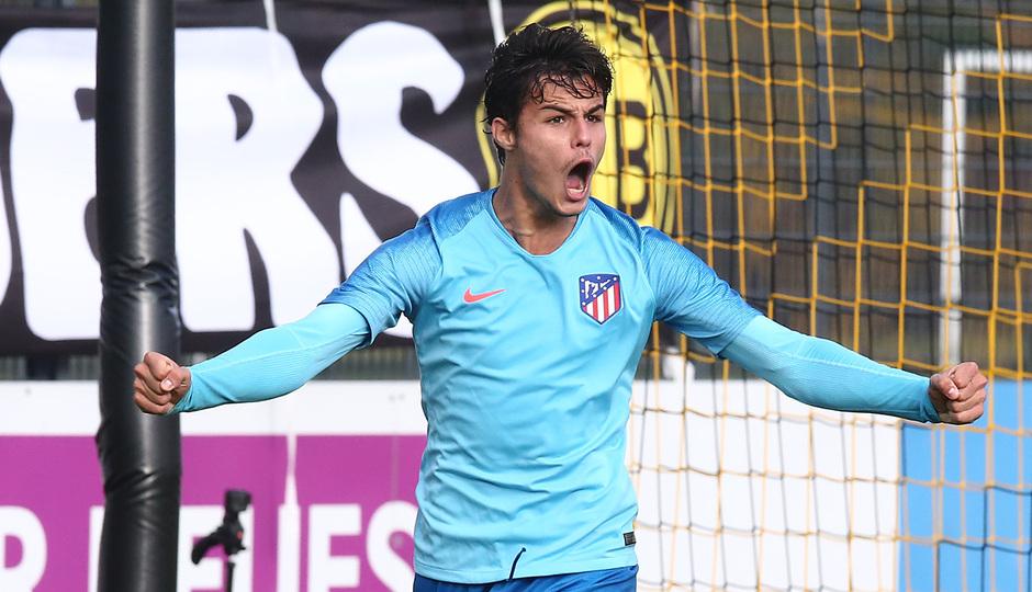 Temp. 18-19 | Youth League. Dortmund-Atlético de Madrid. Del Campo