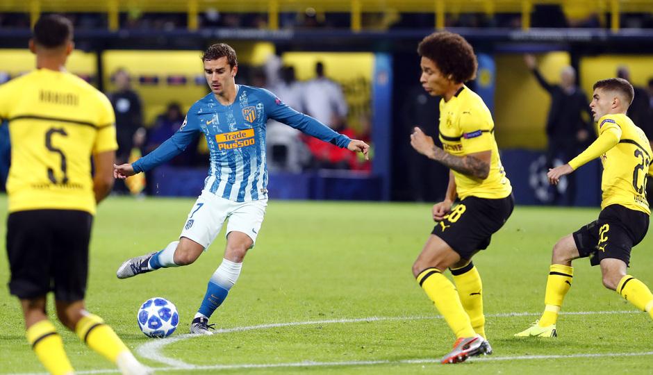 Temporada 2018-2019 | Borussia Dortmund - Atlético de Madrid | Griezmann