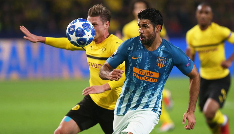 Temporada 2018-2019 | Borussia Dortmund - Atlético de Madrid | Diego Costa