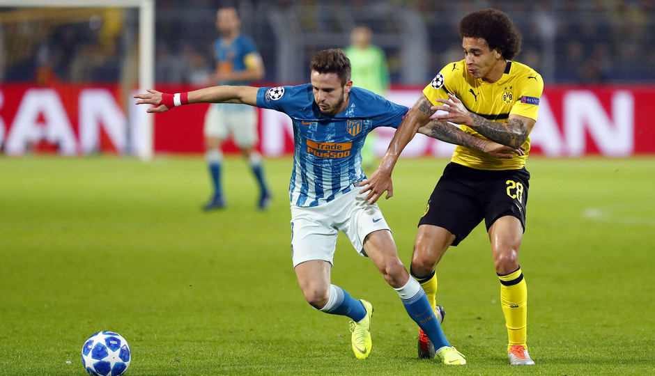 Temporada 2018-2019 | Borussia Dortmund - Atlético de Madrid | Filipe Luis