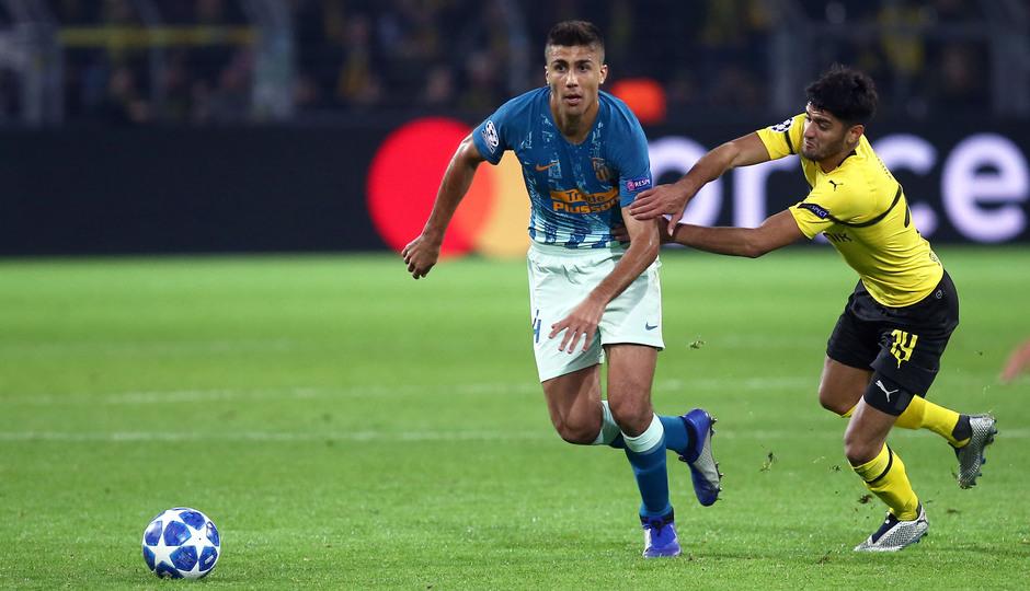 Temporada 2018-2019 | Borussia Dortmund - Atlético de Madrid | Rodrigo