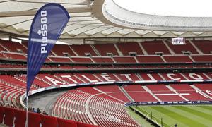 Temporada 18/19   Atlético de Madrid - Real Sociedad   Día de las Peñas 2018