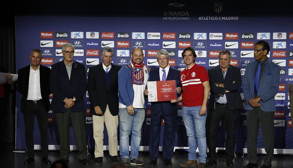 Temporada 18/19 | Atlético de Madrid - Real Sociedad | Día de las Peñas 2018 | Singapore Lions