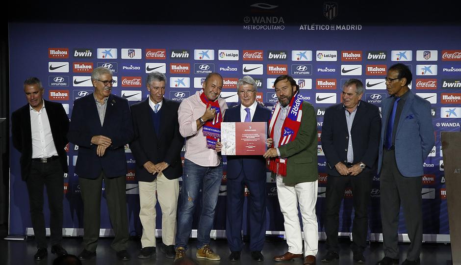 Temporada 18/19 | Atlético de Madrid - Real Sociedad | Día de las Peñas 2018 | El arquero del Calderón