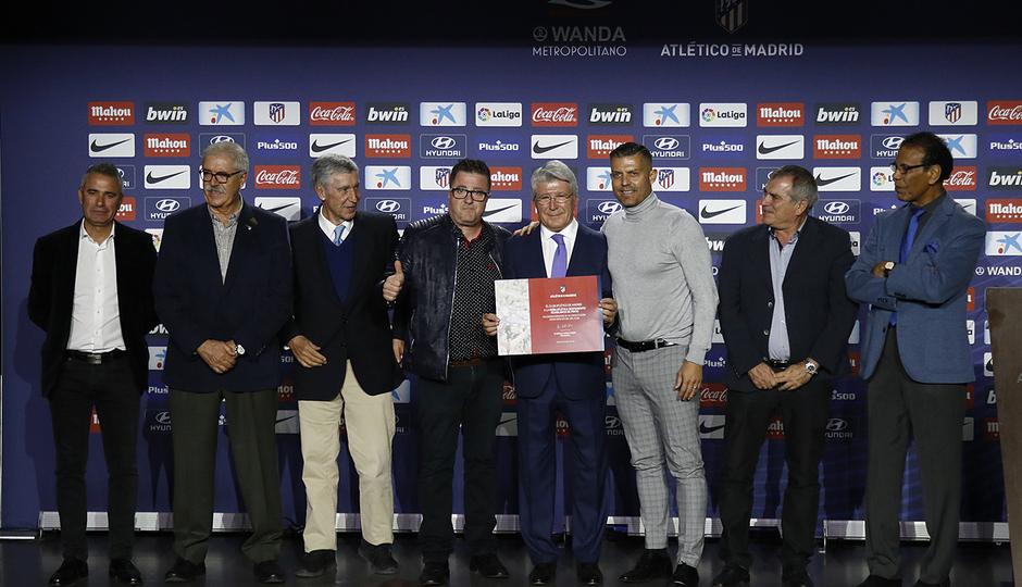 Temporada 18/19 | Atlético de Madrid - Real Sociedad | Día de las Peñas 2018 | Rojiblancos de Pinto