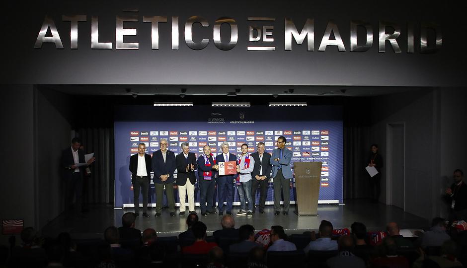 Temporada 18/19 | Atlético de Madrid - Real Sociedad | Día de las Peñas 2018 | Almagro