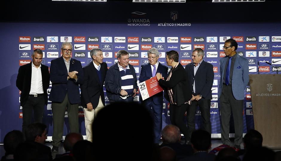 Temporada 18/19 | Atlético de Madrid - Real Sociedad | Día de las Peñas 2018 | De Munera