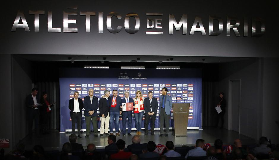 Temporada 18/19 | Atlético de Madrid - Real Sociedad | Día de las Peñas 2018 | Pontevedra