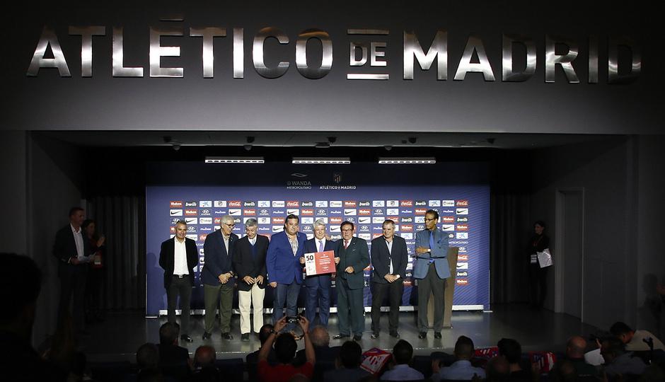 Temporada 18/19 | Atlético de Madrid - Real Sociedad | Día de las Peñas 2018 | Segoviana