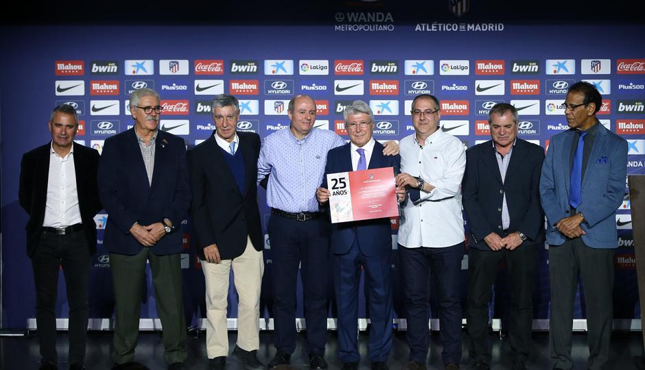 Temporada 18/19 | Atlético de Madrid - Real Sociedad | Día de las Peñas 2018 | Pérez Caminero