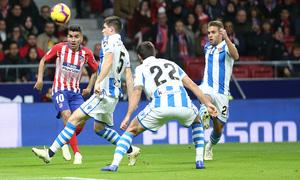 Temporada 2018-2019 | Atlético de Madrid - Real Sociedad | Correa