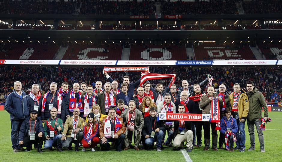 Temporada 2018-2019 | Atlético de Madrid - Real Sociedad | Día de las Peñas
