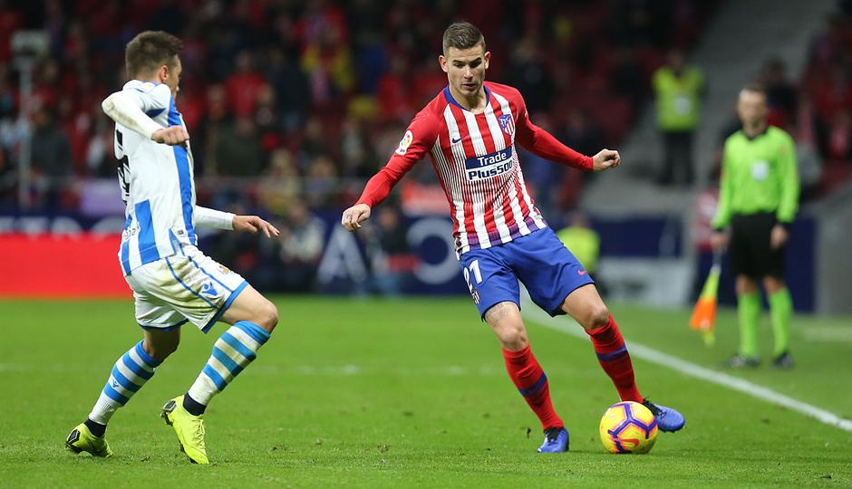 Temporada 18/19 | Atlético de Madrid - Real Sociedad | Lucas
