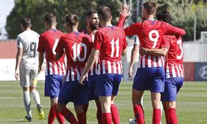 Temporada 18/19 | Atlético B - Ponferradina | Celebración