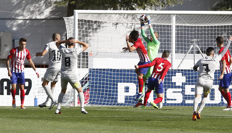 Temporada 18/19 | Atlético B - Ponferradina | Jaume