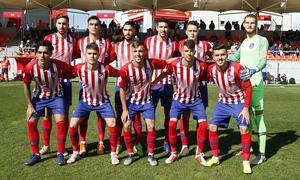 Temporada 18/19 | Atlético B - Ponferradina | Once