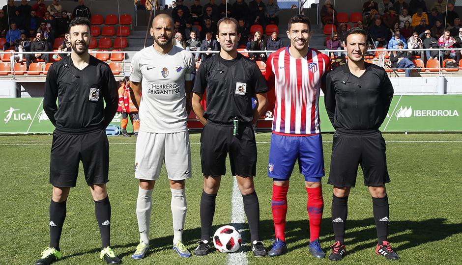 Temporada 18/19 | Atlético B - Ponferradina | Árbitros