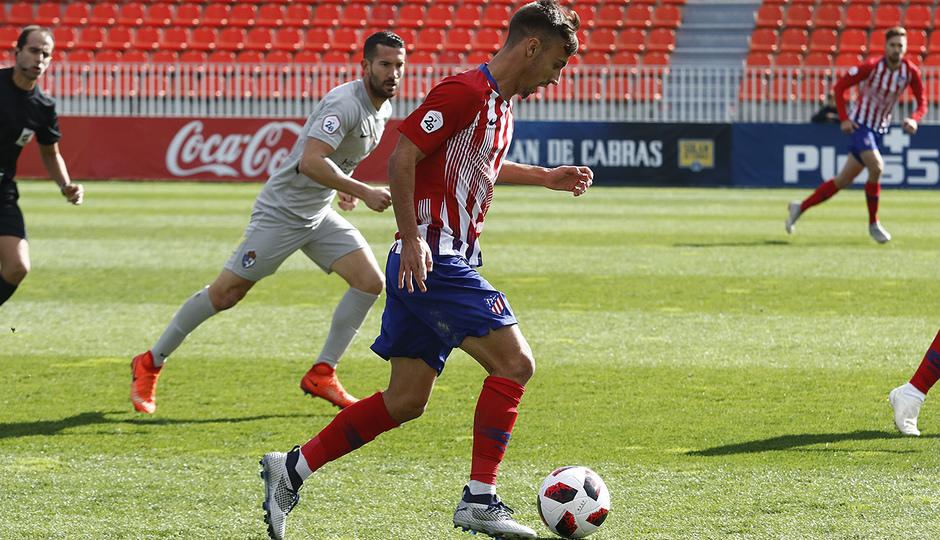 Temporada 18/19 | Atlético B - Ponferradina | Óscar Clemente