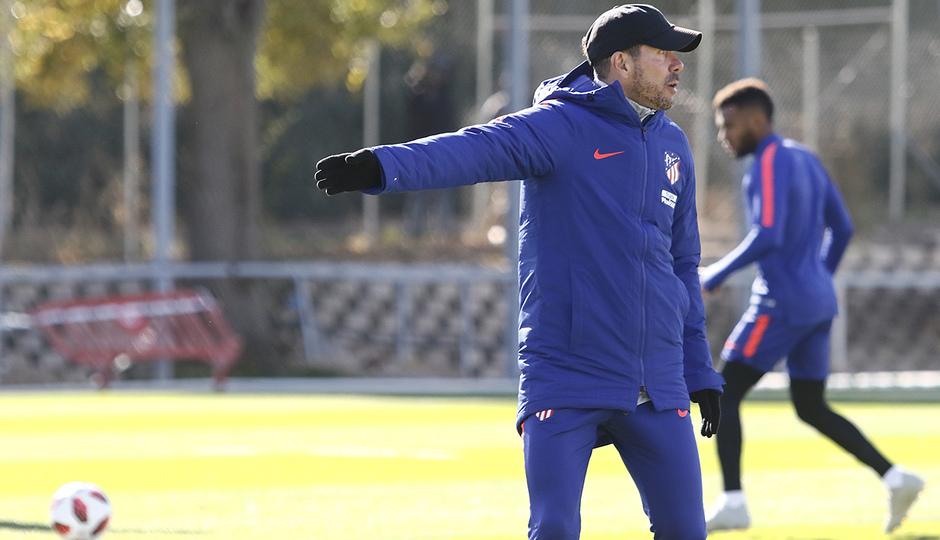 Temporada 18/19 | Entrenamiento del primer equipo | 29/10/2018 | Simeone