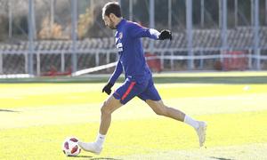 Temporada 18/19 | Entrenamiento del primer equipo | 29/10/2018 | Juanfran