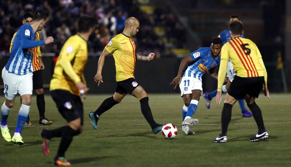 Temporada 18/19 | Sant Andreu - Atleti | Copa del Rey | Lemar