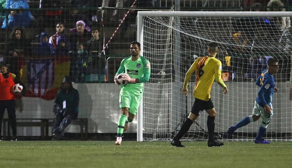 Temporada 18/19 | Sant Andreu - Atleti | Copa del Rey | Adán