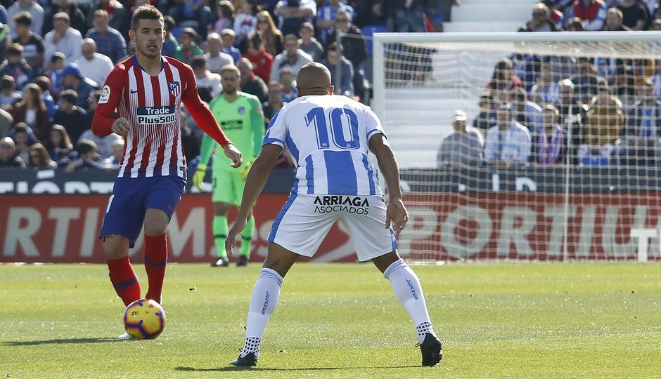 Temporada 2018-2019   Leganés - Atlético de Madrid   Lucas