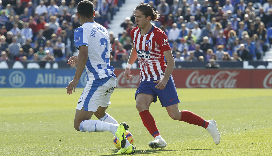 Temporada 2018-2019   Leganés - Atlético de Madrid   Filipe