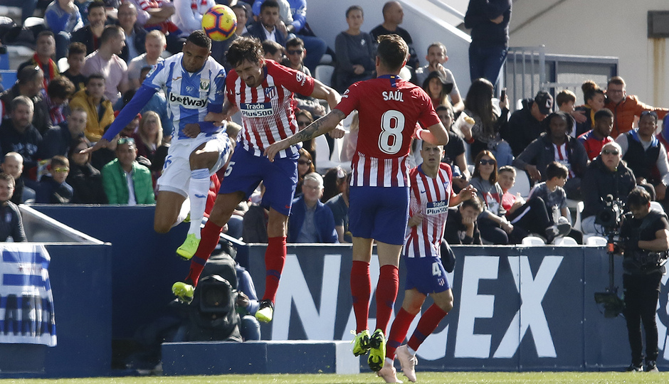 Temporada 2018-2019   Leganés - Atlético de Madrid   Savic