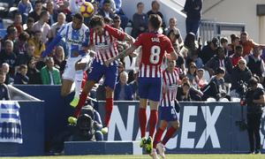 Temporada 2018-2019 | Leganés - Atlético de Madrid | Savic
