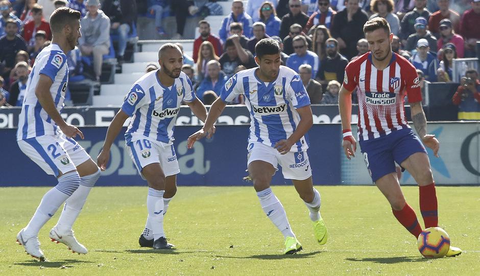 Temporada 2018-2019 | Leganés - Atlético de Madrid | Saúl