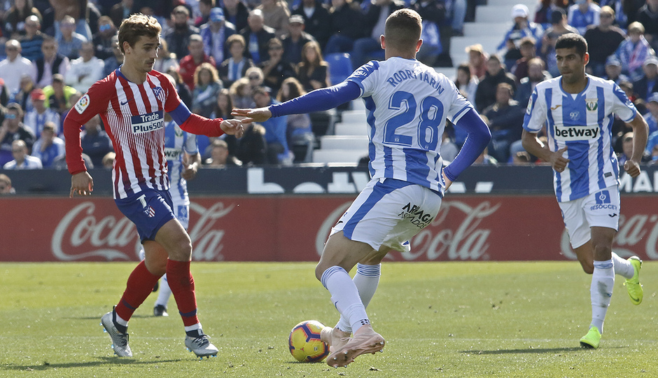 Temporada 2018-2019 | Leganés - Atlético de Madrid | Griezmann