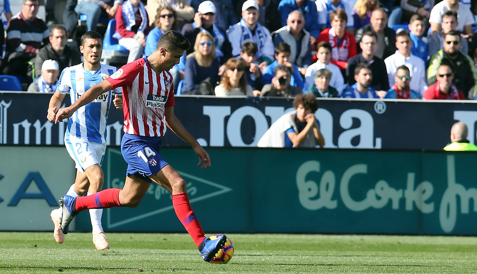 Temporada 2018-2019   Leganés - Atlético de Madrid   Rodrigo