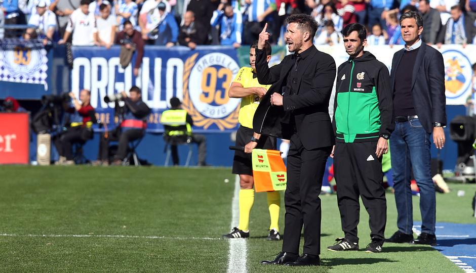 Temporada 2018-2019   Leganés - Atlético de Madrid   Simeone